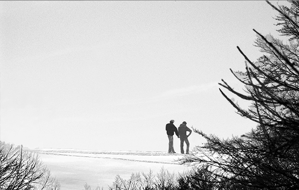 No. 51 A-couple-in-snow